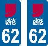 Stickers de la ville de Lens