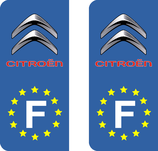 Lot de 2 adhésifs Citroën Europe