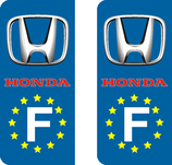 Lot de 2 stickers Honda Europe