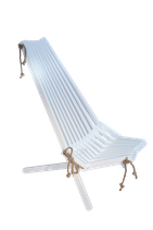 EcoChair - Birke weiß lackiert