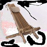 EcoChair - Kiefer braun geölt