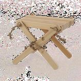Tisch Lilli - Lärche natur