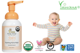 Jabón Espumoso de Manos Orgánico Lavanda para Bebé - OFERTA 2 FRASCOS