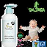 Shampoo y Jabón Orgánico gel de baño Caléndula y Manzanilla para Bebé - OFERTA 2 FRASCOS