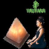 Lámpara de Sal del Himalaya Pirámide - Oferta x 2 Unidades