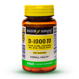 Vitamina D3 – 1000 UI Plus - Frasco x 60 Tabletas