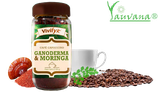 Cafe Cappuccino con Ganoderma Lucidum y Moringa - OFERTA X 4 FRASCOS