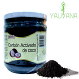 Carbón Activado de Coco Polvo 200 gramos- Oferta x 2 Frascos