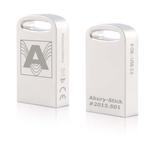 AkuRy-Stick USB 3.0 mit 7,5 GB Speicherkapazität, silber (verchromt)