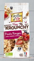 KROUNCHY FRUITS ROUGES 500gr