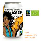 ICE TEA BIO 33CL commerce équitable