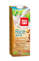 RICE DRINK NOISETTES AMANDES 1L