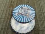 KK-001 Küstenmädel Taschenspiegel Pin Up Girl Seemansbraut Ahoi