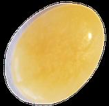 Pierre roulée de Calcite jaune