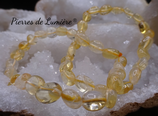 Bracelet citrine chauffée