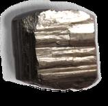 Cube naturel de pyrite (macro cristal)