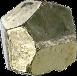 Dodécaèdre de pyrite