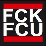 "Aufkleber ""FCK"" (Päckchen m. ca. 35 Stück)"