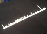 """Sonderdruck """"Skyline"""" (nur in Verbindung mit einer Textilbestellung)"""