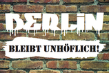 "AUSVERKAUFT - Aufkleber ""UNHÖFLICH"" (Päckchen m. ca. 30 Stück)"