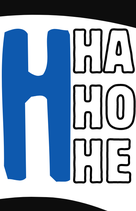 "Aufkleber ""HA HO HE"" (Päckchen m. ca. 25 Stück)"