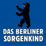 """Aufkleber """"Berliner Sorgenkind"""" (Päckchen m. ca. 40 Stück)"""