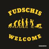 """NEU - Aufkleber """"FUDSCHIS"""" (Päckchen m. ca. 35 Stück)"""