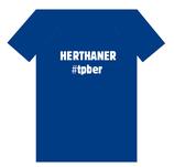 """T-Shirt """"Herthaner #TPBER"""""""