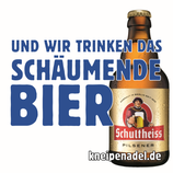 """NEU - Aufkleber """"DAS SCHÄUMENDE BIER"""" (Päckchen m. ca. 35 Stück)"""