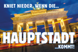 "AUSVERKAUFT - Aufkleber ""HAUPTSTADT"" (Päckchen m. ca. 30 Stück)"