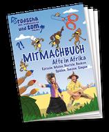Mitmachbuch - Affe in Afrika