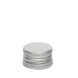 Aluminiumschraubverschluss mit Falzrand - 28 x 17mm