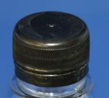 Schraubverschluss schwarz