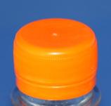 Schraubverschluss orange