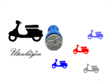 Scooter, Roller - mini Stempel