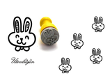 Bunny, Hase comic - mini Stempel