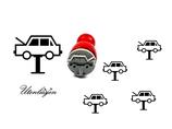 Autowerkstatt- mini Stempel