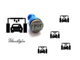 Auto Waschanlage- mini Stempel