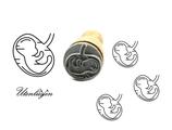 Schwangerschaft, Embryo- mini Stempel