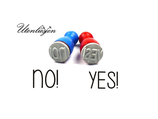 YES! uns NO!- mini Stempel