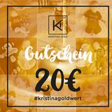 Geschenk-Gutschein Wert 20€