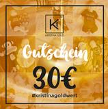 Geschenk-Gutschein Wert 30€