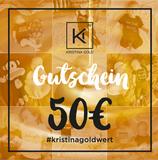 Geschenk-Gutschein Wert 50€