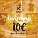 Geschenk-Gutschein Wert 10€