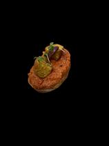 Muhammara mit Falafel