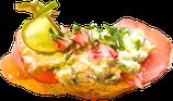 Bresaola-Minze-Avocadoaufstrich