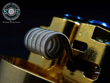 Fused Clapton Nichrome Coil
