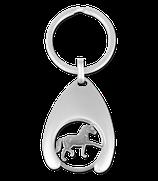 Waldhausen Schlüsselanhänger mit Einkaufswagenchip