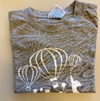 T-Shirt Manica Corta Bambino Logo Bianco