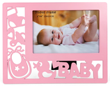Ref. 6613 Portafotos calado niña